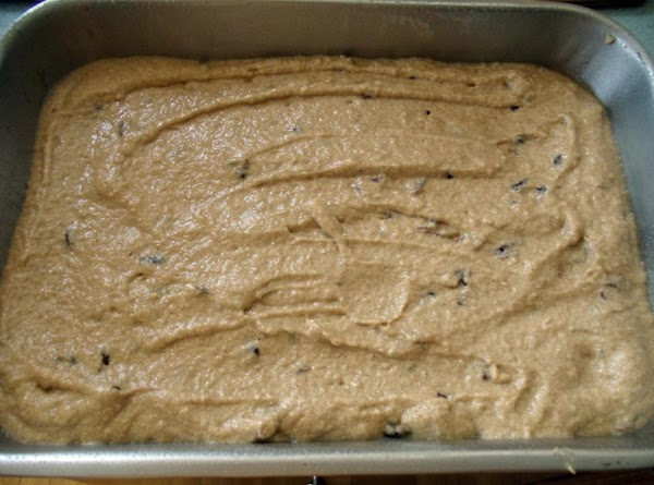 Spread evenly into the prepared pan.  Bake for 25 minutes (check at 20...