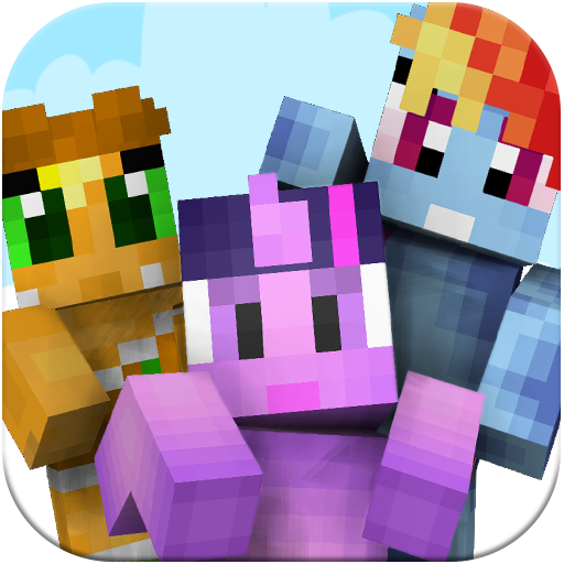 Cute Pony skins for Minecraft 書籍 App LOGO-硬是要APP