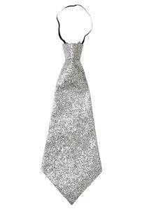 Slips, silverglitter