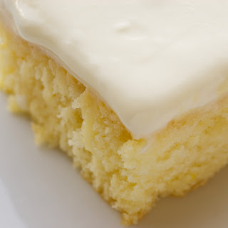 French Vanilla Poke Cake Recipe