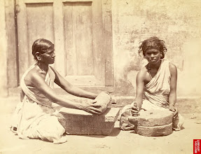 Photo: Rice cleaning