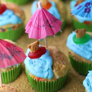 Luau Cupcakes Recipe