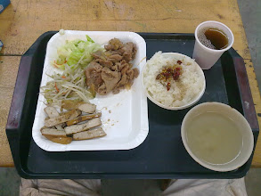 Photo: oběd, kolem 60nt (30czk)