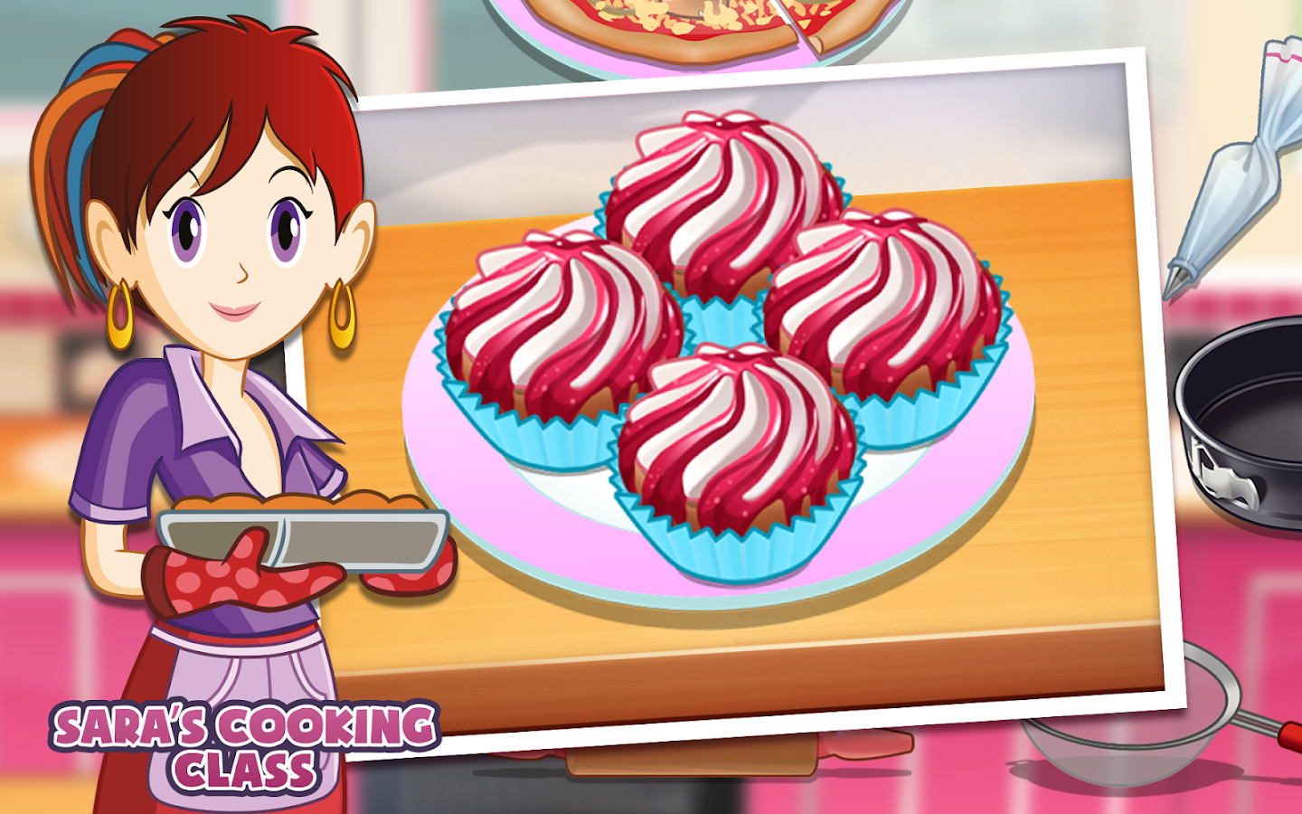 Sara's Cooking Class- screenshot