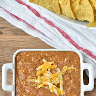 3 Ingredient Crock Pot Bean Dip