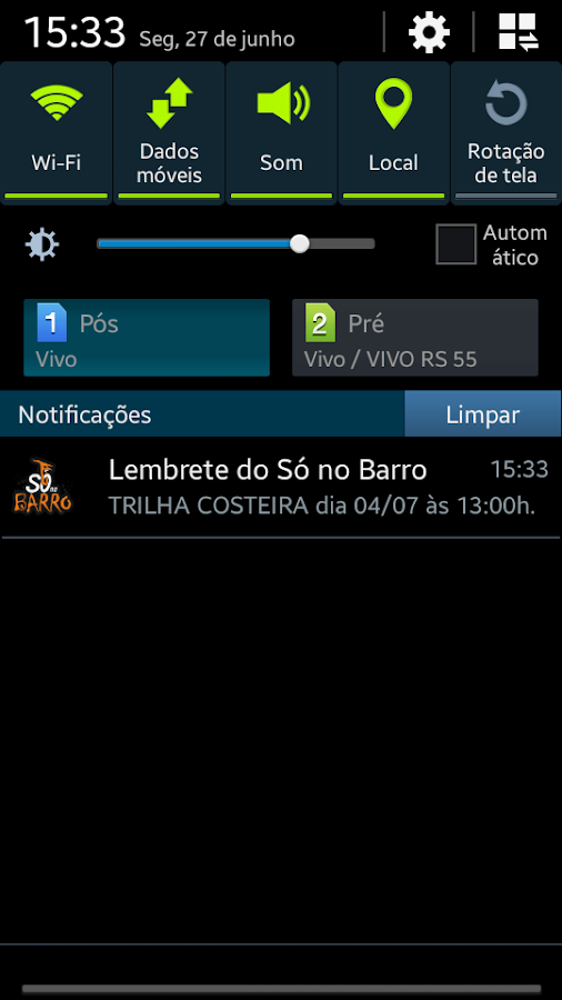 Só no Barro App - Lembretes- screenshot