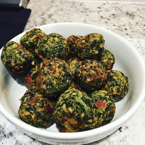 Spinach Cheese Balls