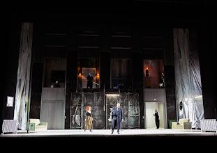 Photo: Theater an der Wien: La mère coupable Oper in drei Akten von Darius Milhaud . Premiere am 8.5.2015 Angelika Kirchschlager, Stephane Loges, Aris Argiris. Copyright: Barbara Zeininger