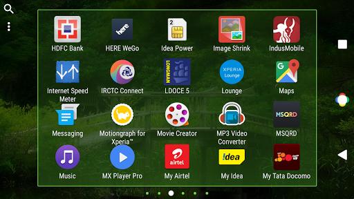 Nature Nougat Theme For Xperia screenshot 6