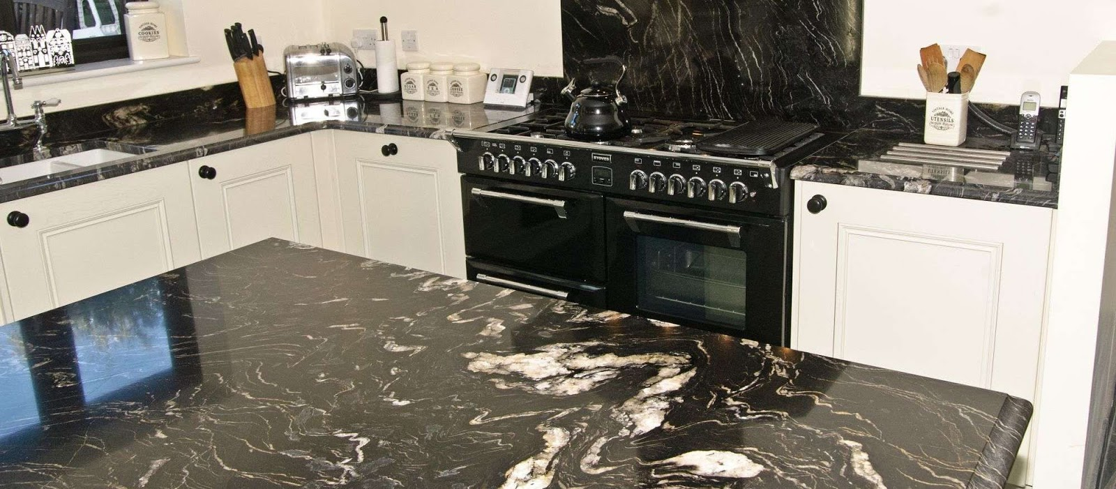 Worktops Installations | Welford | Heart Kitchens