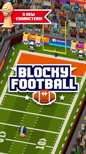 Blocky Football Screenshot