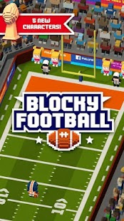 Blocky Football - náhled