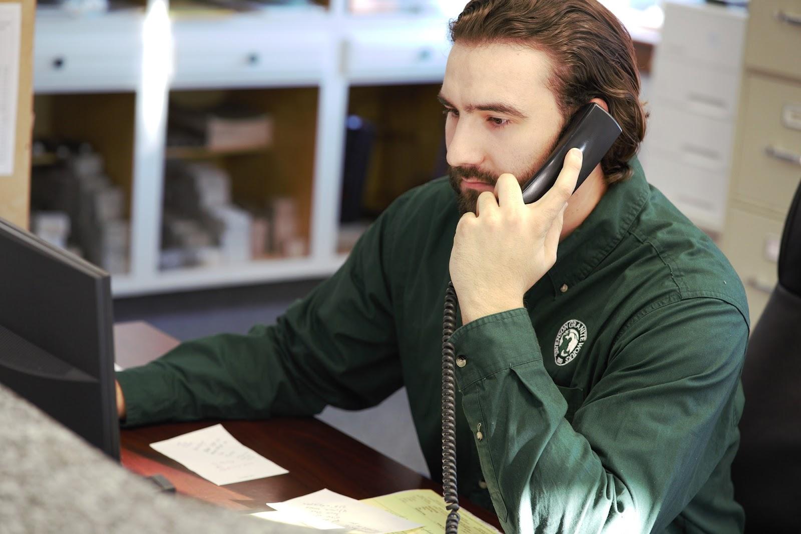 Austin Arraiol, Swenson Granite Works Medway Assistant Store Manager