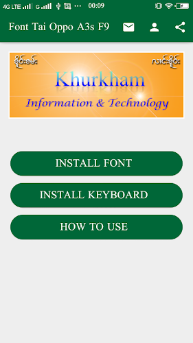 Download Font Oppo A3s APK latest version App by Khurkham