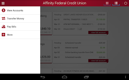 Affinity Federal Credit Union- screenshot thumbnail