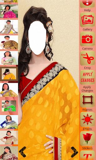 Saree Style Montage