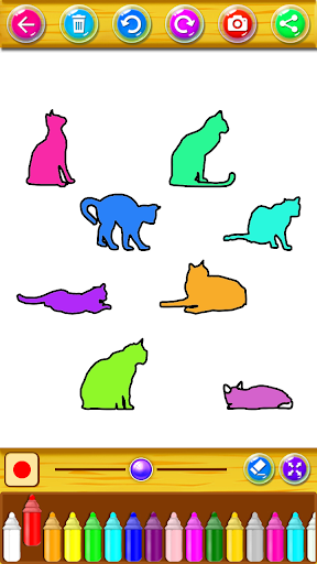 Kitty Coloring Book & Drawing Game 2.0.0 screenshots 6