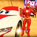 Impossible Super Heroes - Car Stunts Racing Games APK