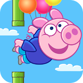 Flappy Pig - Free For Kids