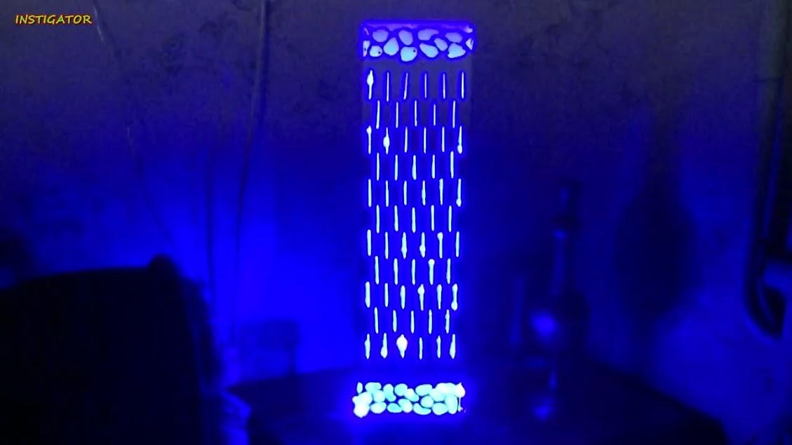 Membuat Lampu Hias Ukir dari Pipa PVC Bekas