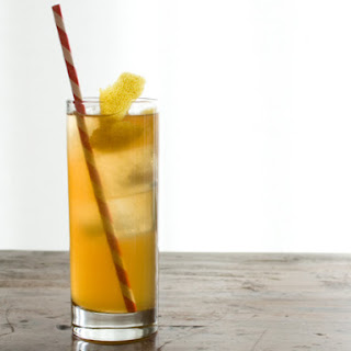 Smoky Iced Tea and Whiskey Cooler.