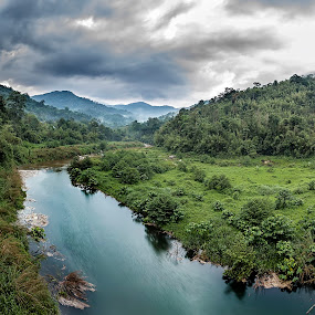Never Stop Exploring by Coolvin Tan - Landscapes Mountains & Hills ( clouds, hills, mountain, waterscape, malaysia, sunrise, morning, waterscapes, rivers, photography )
