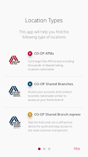CO-OP ATM / Shared Branch Locator- screenshot thumbnail