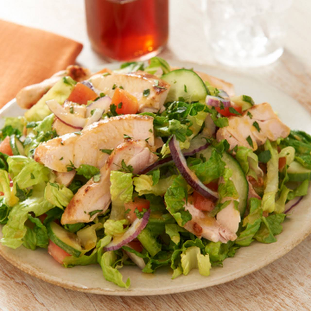 Citrus Rubbed Chicken Dinner Salad