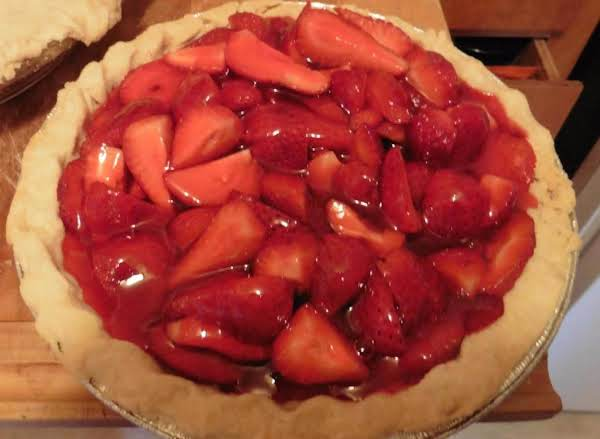 Fresh Strawberry Pie  Just Simple By Freda Recipe