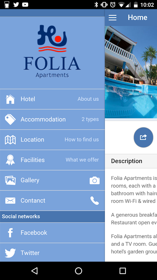 Folia Hotel Chania- screenshot