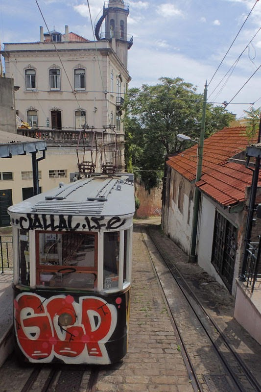 Ascensor do Lavra (Lisbon, Portugal)