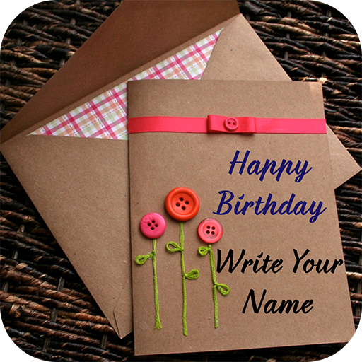 Name on Birthday Card - Apps on Google Play