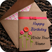 Name on Birthday Card‏