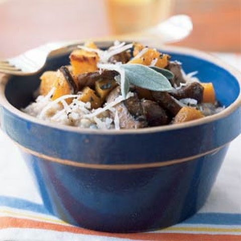 Steel-Cut Oat Risotto With Butternut Squash and Mushrooms Recept ...