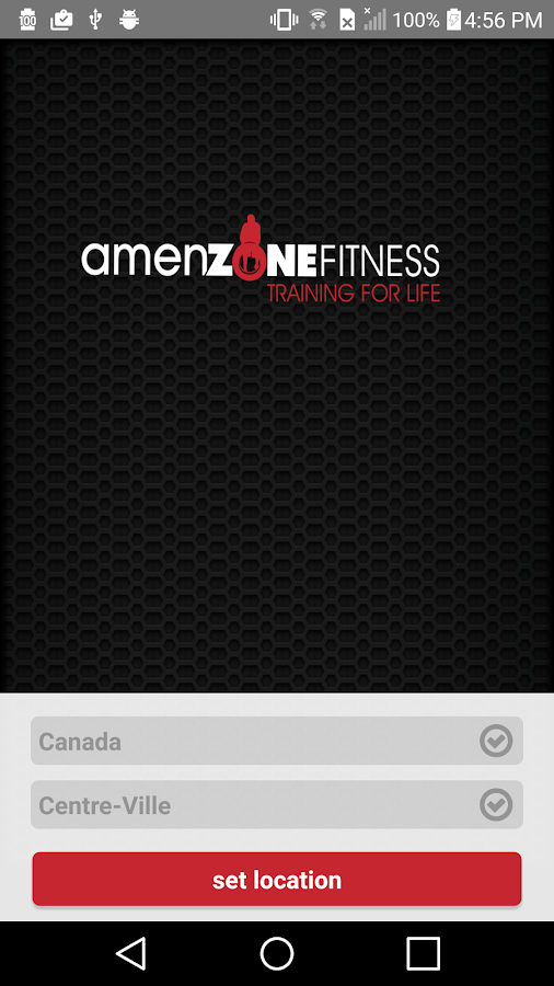 Amenzone Fitness- screenshot