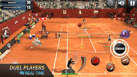 Ultimate Tennis: 3D online sports game 4