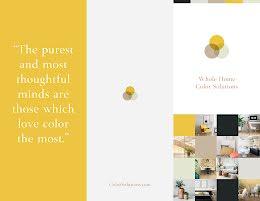 Whole Home Color - Flyer item