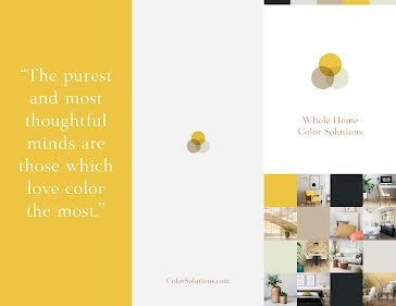 Whole Home Color - Flyer template