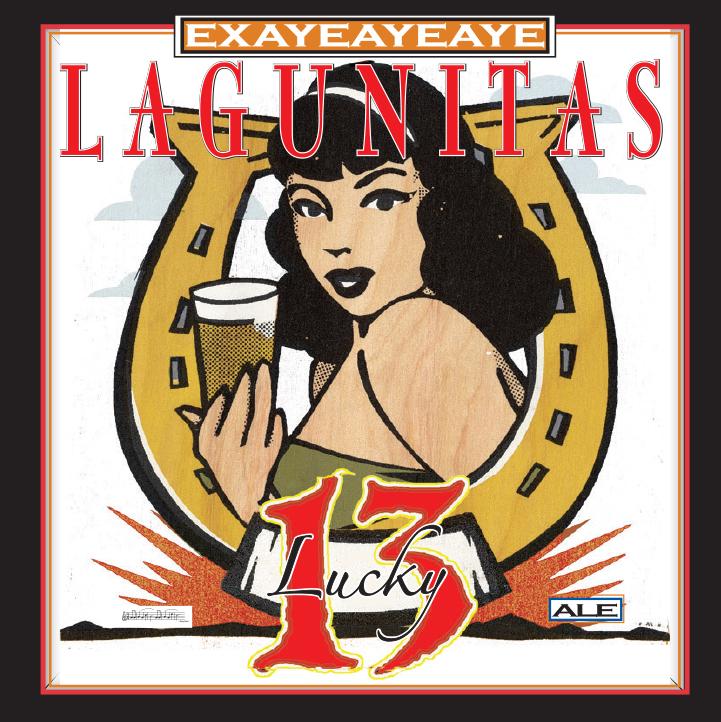 Logo of Lagunitas Lucky 13 Ale