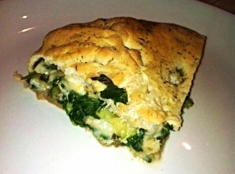 Low Fat Veggie Stuffed Bread With Crab,or Chicken Recipe