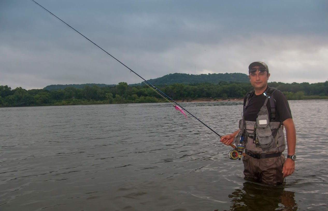 USA Fly Fishing Adventure - Part III - White bass