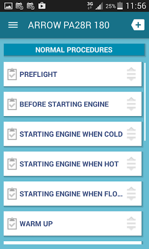 PA28R 180 Arrow Checklist