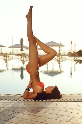 性感的身体瑜伽女孩|玩娛樂App免費|玩APPs