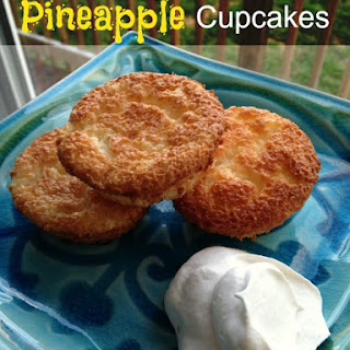2-Ingredient Pineapple Cupcakes