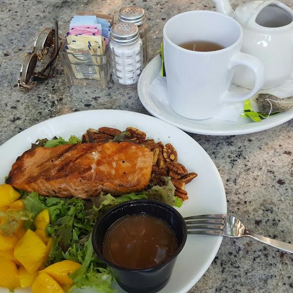 Rum Salmon Salad