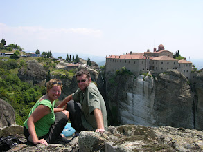 Photo: Mick and Suzanne, Meteora