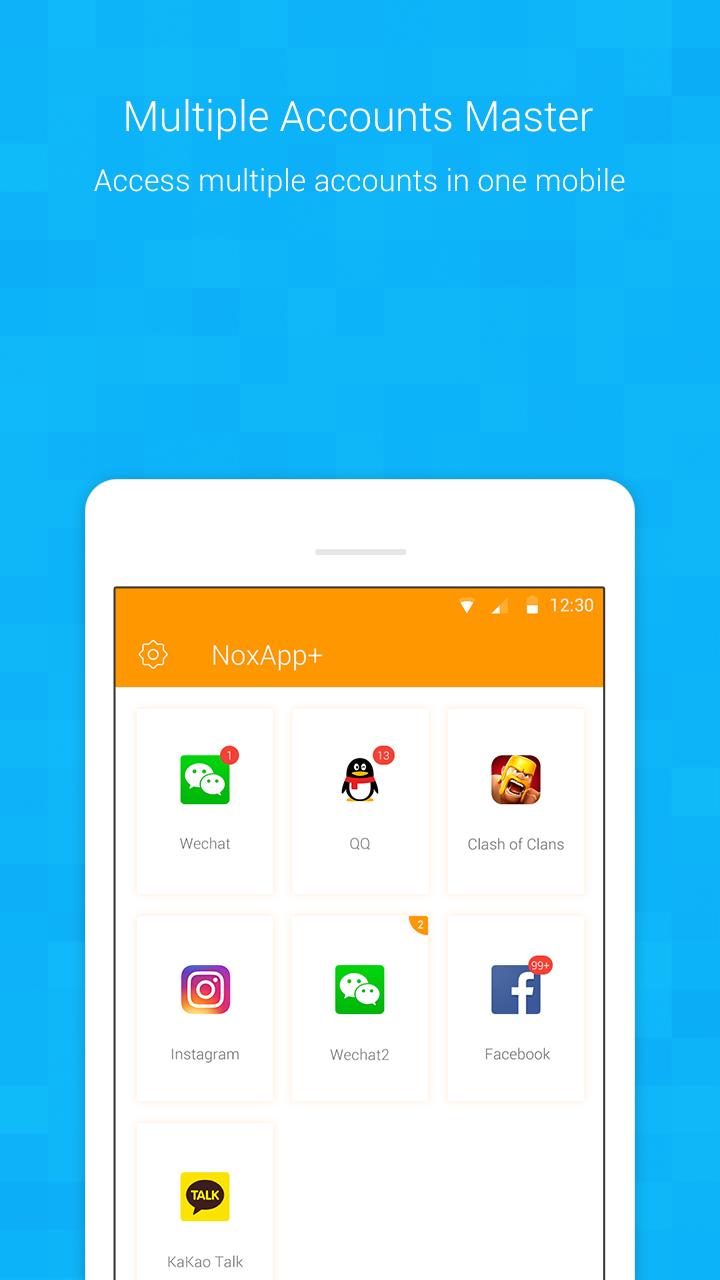 NoxApp+ - Multiple accounts clone app APK Cracked Free