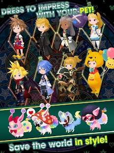 KINGDOM HEARTS Union χ[Cross]- screenshot thumbnail