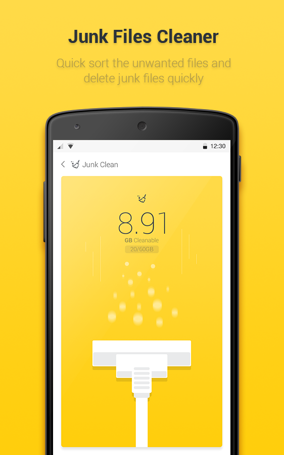 Yellow Booster – Clean & Boost- screenshot