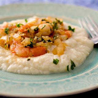 Cajun Shrimp and Mashed Cauliflower (Low-GI) Recipe